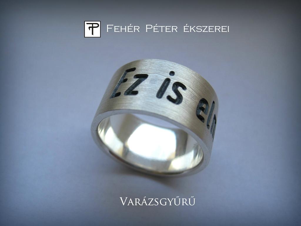 gyűrű felállítása)